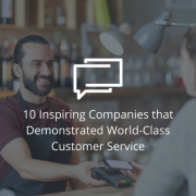 world class customer management companies