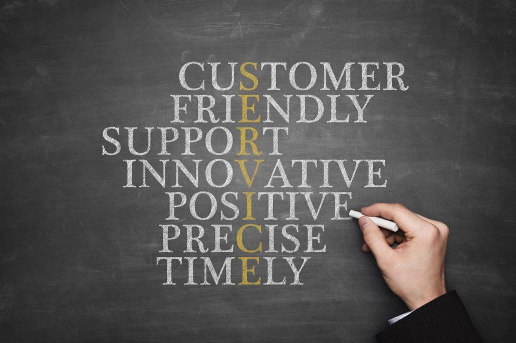 important customer service skills