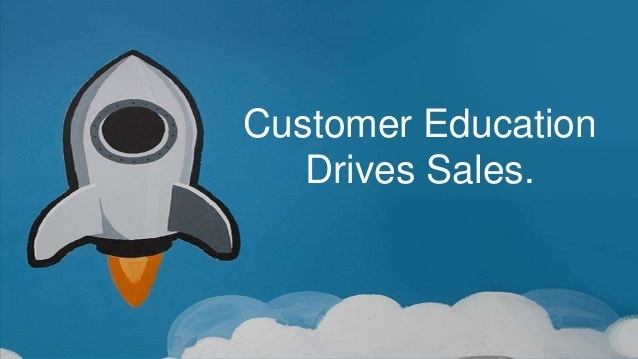 customer education to drive sales