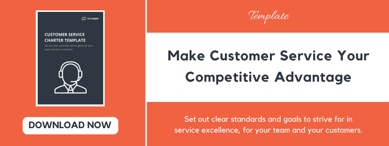 customer service charter template download cta woveon