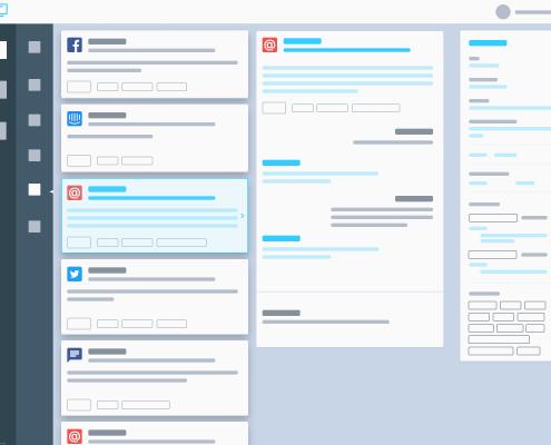 Woveon Conversation Stream Smart Reply Framework
