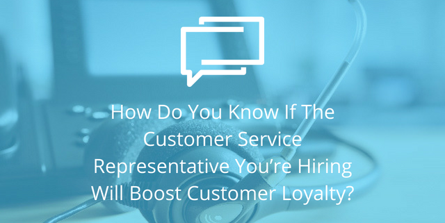 customer service rep customer loyalty