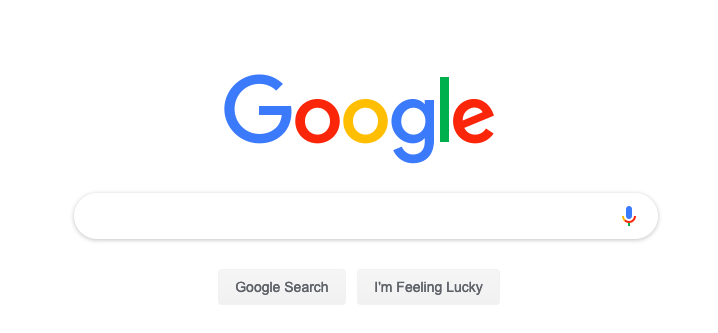 google search engine search bar