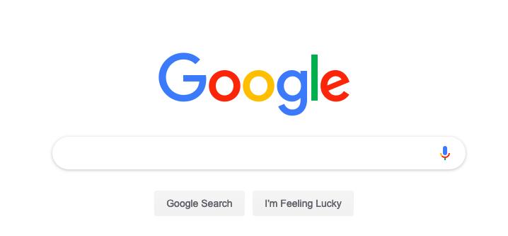 google search engine search bar