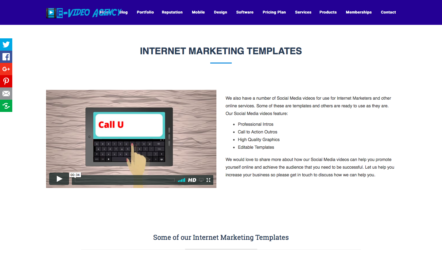 cmo-marketing strategy-woveon-E-Video Agency Internet Marketing Plan Templates