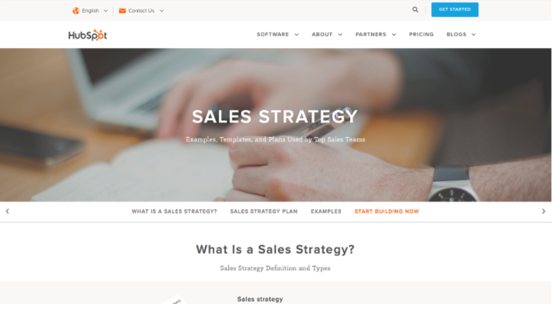 hubspot sales strategy