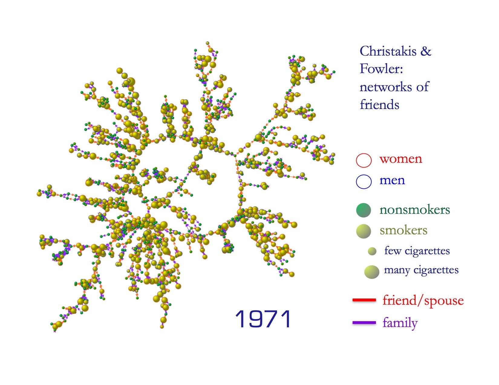 Christakis Fowler smoking friend networks-psychology-marketing-cmo-online marketing strategy