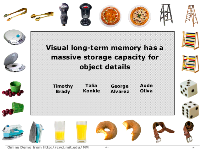 visual long term memory psychology marketing