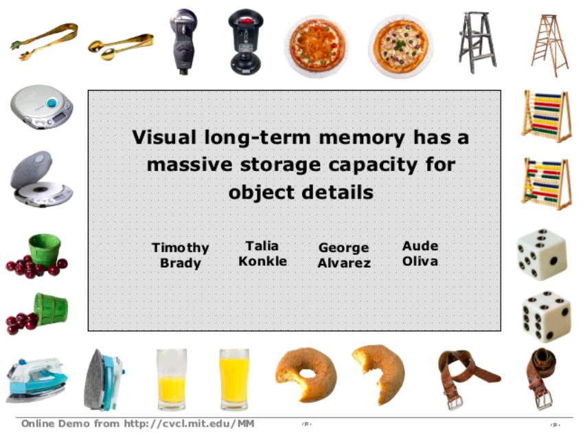 visual long term memory psychology marketing
