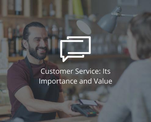 Customer Service importance value