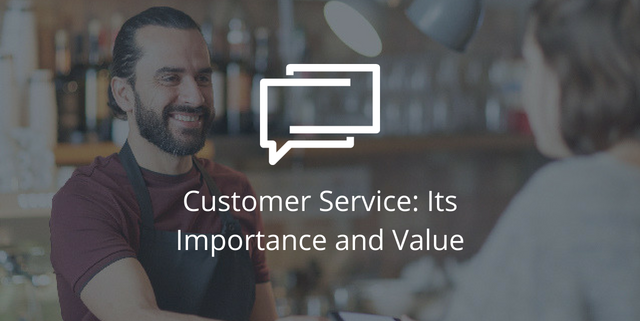 Customer Service importance value