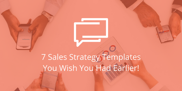 sales strategy templates you need