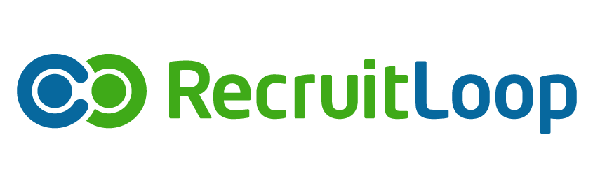 recruit loop brand logo recruitment agency