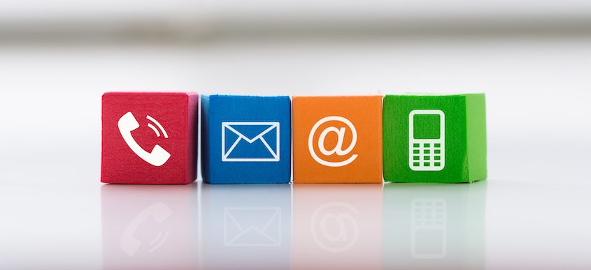 sms and email marketing to connect with audience