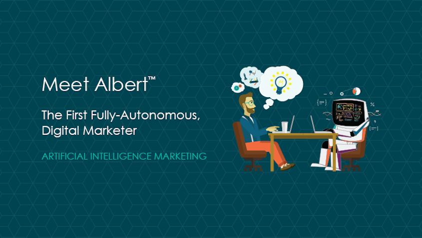 albert by adgorithm - artificial intelligence marketing lead generation software