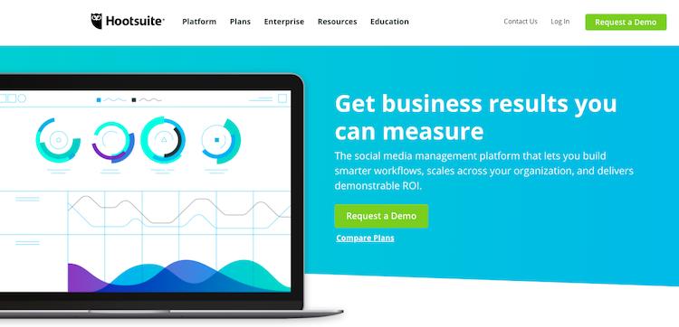 hootsuite social media management platform