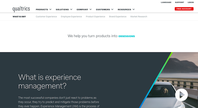 qualtrics insight platform customer experience management