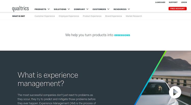 qualtrics insight platform customer experience management