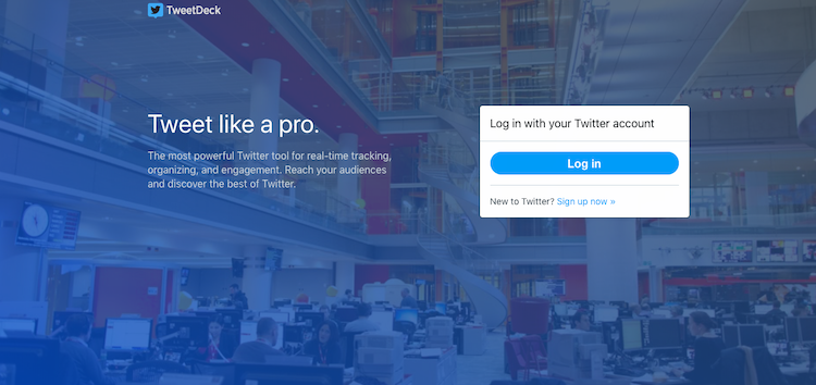 tweetdeck social networking software