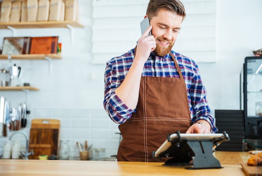 barista multi tasking customer experience