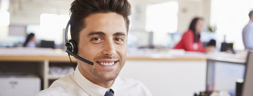 customer support in call center