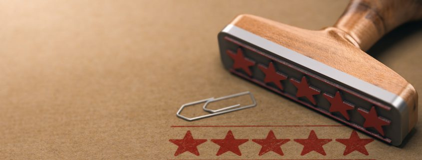 five stars customer experience strategy