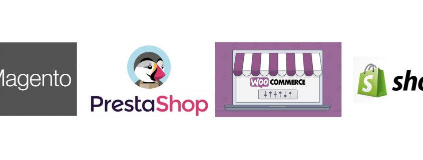 eCommerce brand logos companies